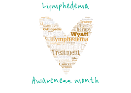 March is lymphoedema awareness month