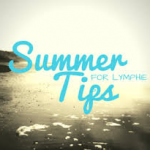 Summer tips if you have lymphoedema