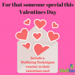 Gift voucher for Valentines Day